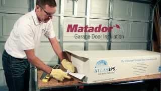 Matador Garage Door Insulation Kit