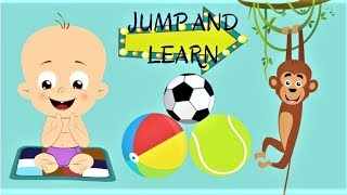 """ALPHABET ANIMALS"" Learn alphabets ABC for kids with animals and balloons"