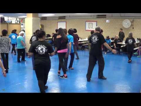 JAMAICA FAREWELL Line Dance 2017 NYC Reunion   Ira Weisburd
