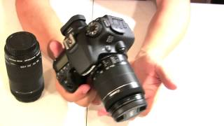 Canon 70D :be careful buying the bundle, +video test