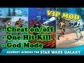 Star Wars™: Galaxy of Heroes Ver. 0.17.495380 MOD APK   God Mode   One Hit Kill   Cheat on/off  