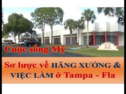 Vlog CUỘC SỐNG MỸ - Số 24 - HÃNG XƯỞNG & VIỆC LÀM Ở TAMPA - FL