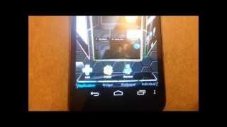 Next launcher sur le Galaxy Nexus Android