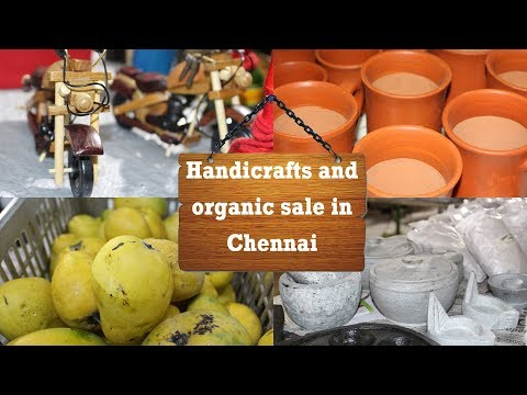 Chennai's Largest Handricrafts and Organic Food Exhibition | சென்னையில் சந்தை | Chennaiyil Sandhai