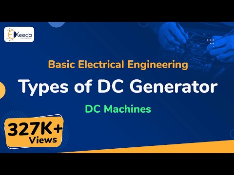 Types of DC Generator - DC Machines - Basic Electrical Engineering - First Year Engineering thumbnail