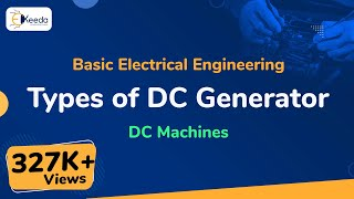 Types of DC Generator - DC Machines - Basic Electrical Engineering - First Year Engineering