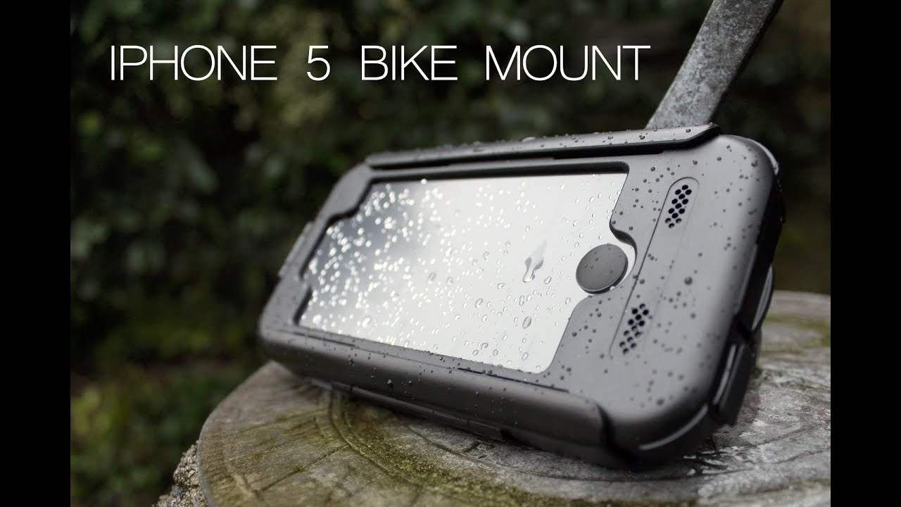 Iphone 5 Bike Mount Youtube