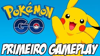 Pokemon GO - Primeiro Gameplay e criação do personagem