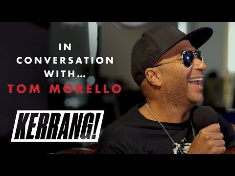 In Conversation With: TOM MORELLO of RAGE AGAINST THE MACHINE & AUDIOSLAVE