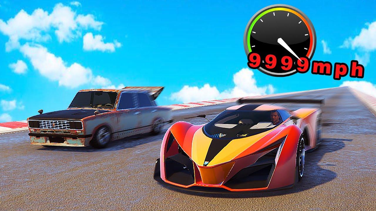 GTA 5 | Fastest CAR SPEED?