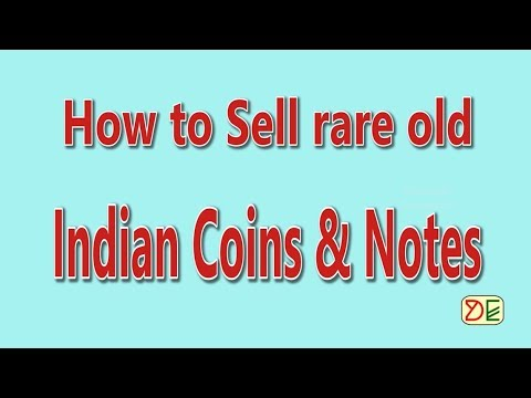 How to sell Rare Old Indian Coins & Notes? | How to fix the price of rare old coin?