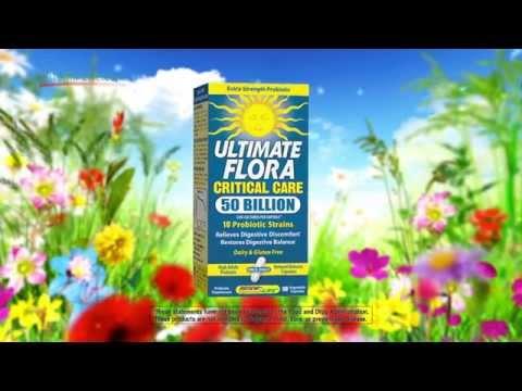 Vitamin Life Ultimate Flora Probiotics ad By ReNew Life