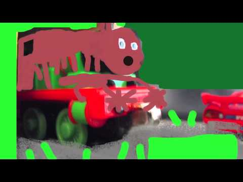 Percy the Train's Stop Motion Chocolate Factory Accident Video