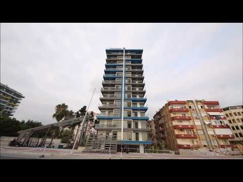 TWİN TOWER Seafront Apartment in Alanya