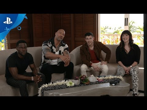 Knowledge is Power - The Jumanji Cast Plays PlayLink! | PS4
