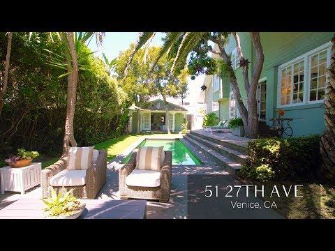 Venice Beach Craftsman   Luxury Lease   51 27th Ave