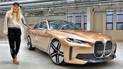 The Gold BMW