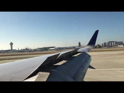 United Airline 757-200 Parallel Landing at Los Angeles International Airport (LAX)
