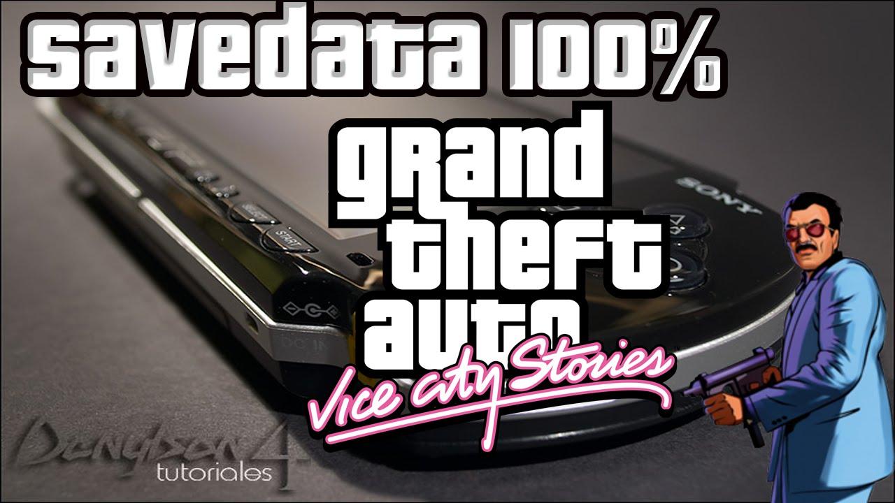 PSP GTA TÉLÉCHARGER SAUVEGARDE VCS