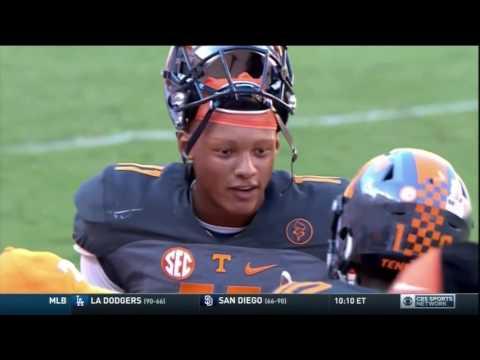 Butch Jones on CBS Sports talking Florida victory