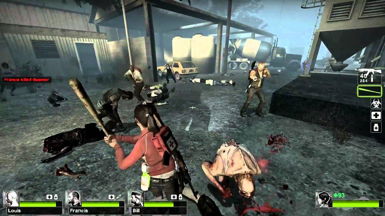 Left  Wallpaper Hd Left 4 Dead 2 The Sacrifice Gameplay Part 2 3 Zoey L4d2
