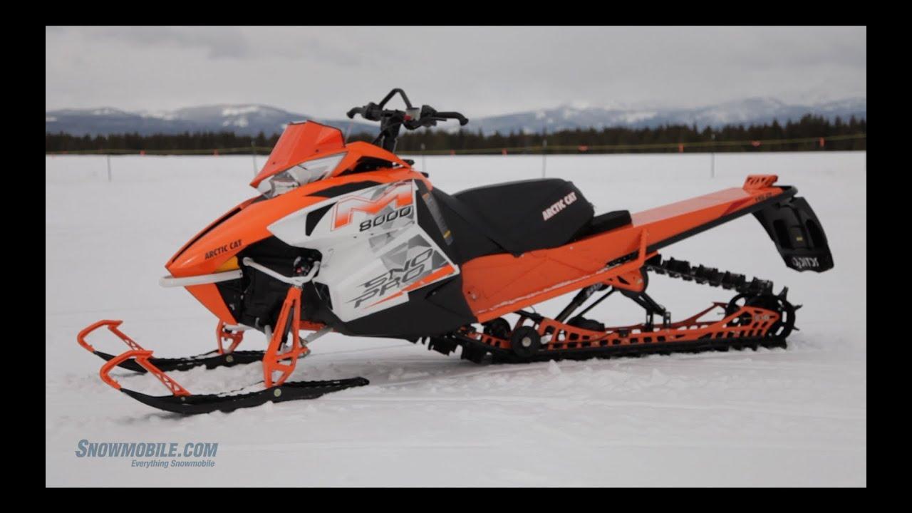Arctic Cat Snowmobile For Sale >> 2014 Arctic Cat M8000 SnoPro - YouTube