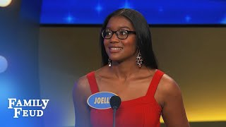 GUYS ain't interested in a woman with THIS... | Family Feud thumbnail