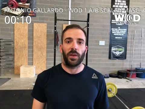 Wod 1 A /B scaled masc.Arenal Games Antonio Gallardo