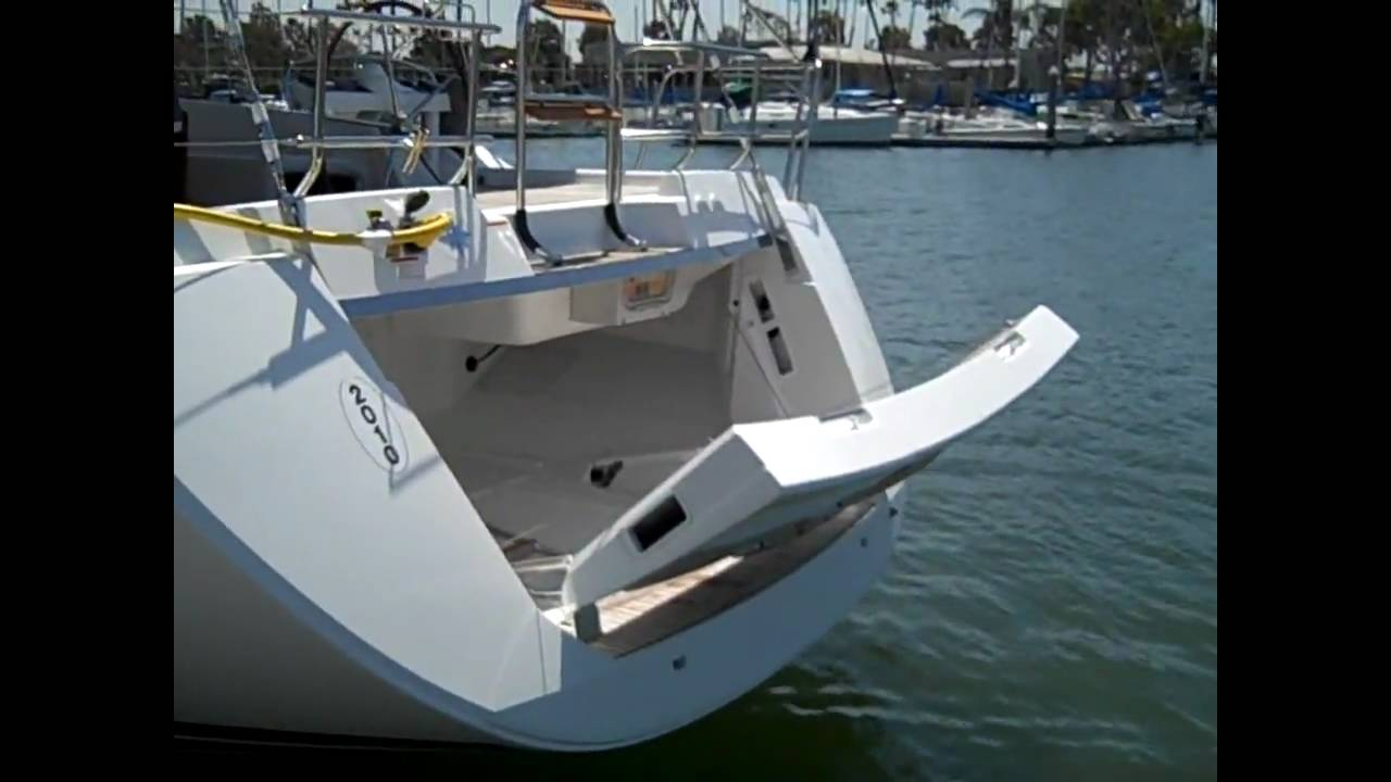 Jeanneau 57 Yacht Sailboat Electric Stern Transom Preview