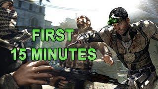Splinter Cell Blacklist Gameplay Walkthrough - Introduction First 15 minutes Campaign Mode