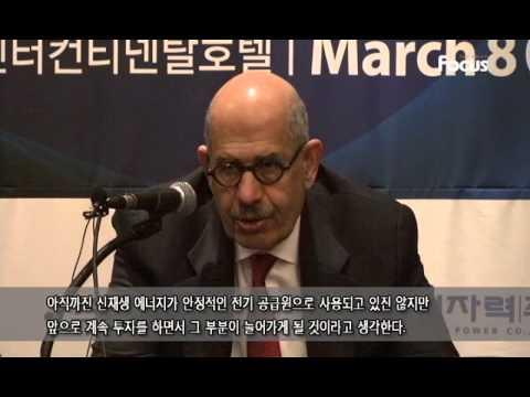Mohamed ElBaradei (Director General of IAEA)