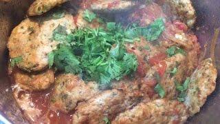 """"""" Chapli Handi Kebab """" Bajias Cooking"""