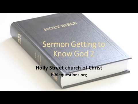 Bible Sermons by Date - Bible Questions