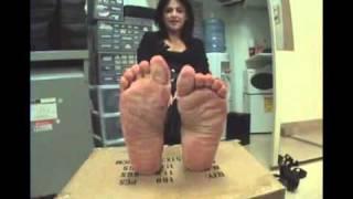 Mature Puertorican Feet