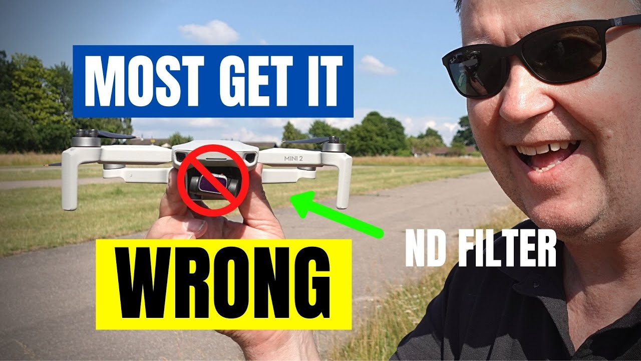 DJI Mini 2 ND Filters - When, Where, and How To use them