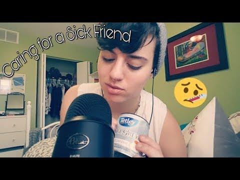 ASMR | Caring for a sick friend! (Roleplay)