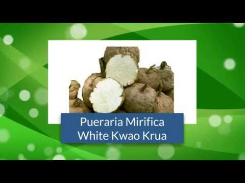 Thai Herbal Health Supplement for Women with Pueraria Mirifica (Kwao Krua White)