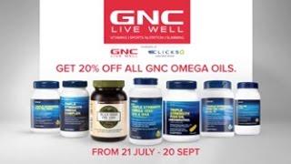 GNC Omega Campaign