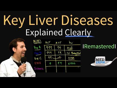 Diagnosis of Key Liver Diseases - Hepatitis A, B, C vs. Alcoholic vs. Ischemic (AST vs ALT Labs)