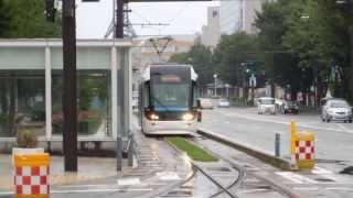 富山ライトレール インテック本社前~富山駅北 Toyama Light Rail