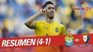 Resumen de UD Las Palmas vs CA Osasuna (4-1)