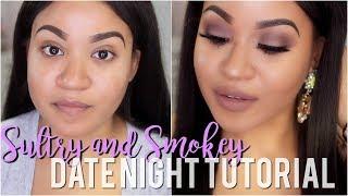 Spring Date Night Makeup Tutorial | Mauve Sultry Smokey Eye!!