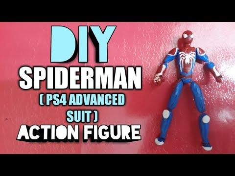 DIY SPIDERMAN ( ADVANCED SUIT PS4 VER. ) ACTION FIGURE