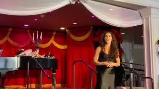 """Jodie Langel sings """"Memory"""" at the Wick Theatre."""