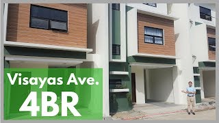 House Tour QC16  |  Brand NEW Townhouse for Sale in VISAYAS AV…