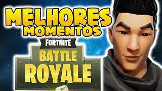 BEST MOMENTS AND FUNNY (Fortnite Battle Royale gratis) #1 [PC] | [PT-BR] - Softe