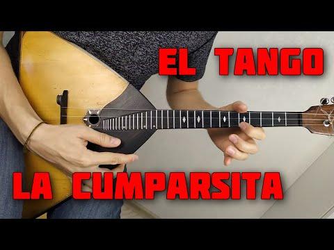Танго на балалайке. La Cumparsita. Урок 145. Уроки игры на балалайке