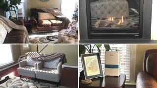 Winter Family Room & Living Room Updates / Winter Cozy Decor / Ami