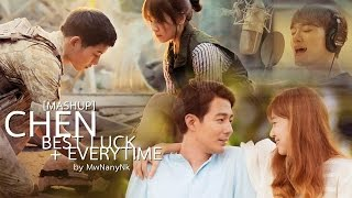 Download Video [MASHUP] 첸 (CHEN) (EXO) - Best Luck/Everytime OST.Descendants of the sun , It's ok That's Love MP3 3GP MP4