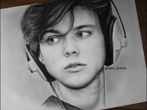 Drawing Ashton Irwin From 5 Seconds Of Summer